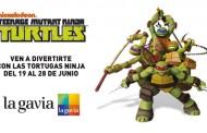 Las Tortugas Ninja en La Gavia - 19 al 28 de Junio