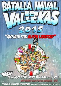 Cartel de la Batalla Naval 2015