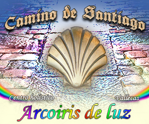Arcoiris de luz - Camino de Santiago