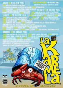 Cartel de las Fiestas de la Karmela 2015