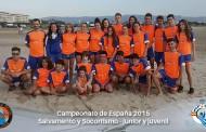 Vallecas SOS Subcampeón en el Campeonato de España junior y juvenil