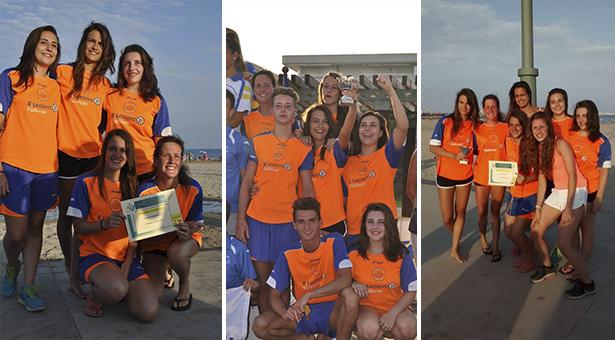 Equipo Junior femenino - Subcampeonas de España