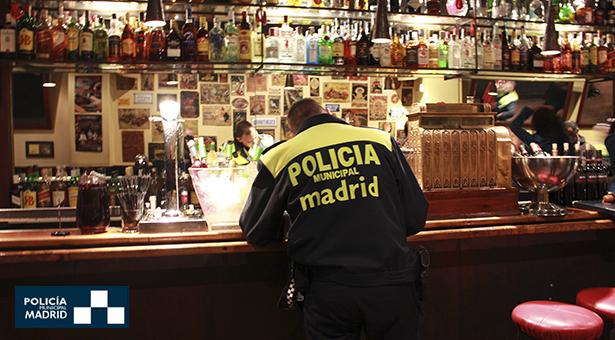 Últimas intervenciones policiales en Puente de Vallecas, cinco detenidos