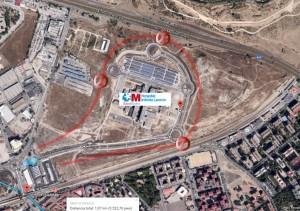 Único acceso al Hospital Infanta Leonor