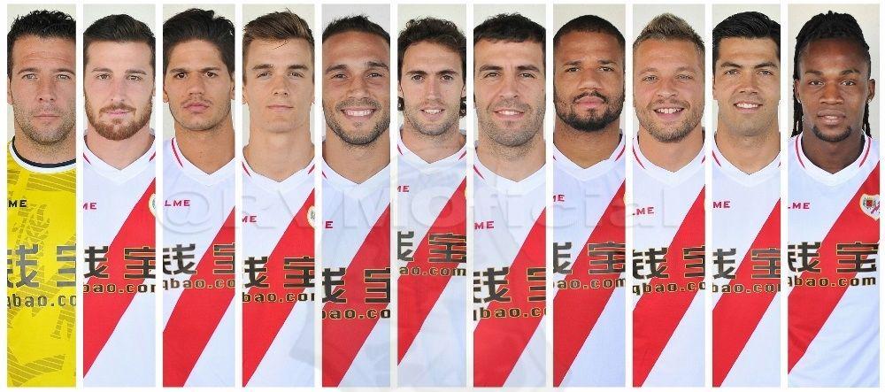 Once inicial - Toño, Tito, Zé, Llorente, Nacho, Baena, Trashorras, Bebé, Ebert, Miku y Manucho