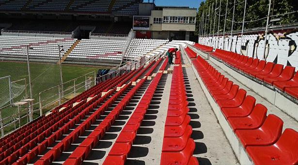 Nuevos asientos del fondo