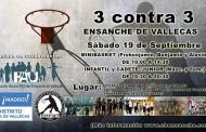 Torneo 3 contra 3 del C.B. Ensanche de Vallecas
