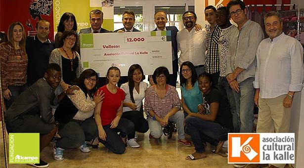 El supermecado Alcampo de Vallecas apoya el proyecto de inserción sociolaboral de la Asociación La Kalle
