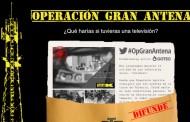 Operación Gran Antena de Tele K, campaña de Crowdfunding para conseguir antenas de alta potencia y emitir en todo Madrid