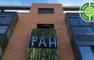 La obra social de la PAH consigue once alquileres sociales en un inmueble de Vallecas