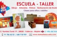 DateArte - Escuela/Taller de Arte - Dibujo, pintura, restauración de muebles y artesanía
