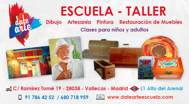 DateArte  EscuelaTaller de dibujo artesana pintura y