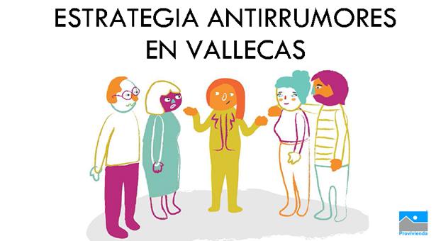 Estrategía Antirrumores en Vallecas del 14 al 23 de Octubre