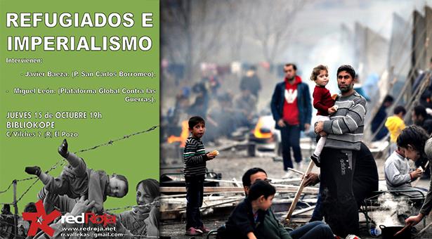 'Refugiados e Imperialismo' charla informativa en la Bibliokoope de Entrevías