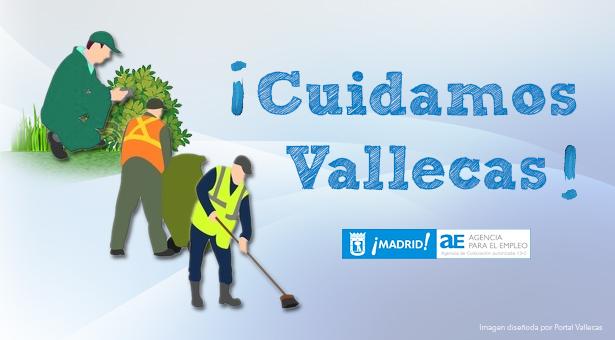 ¡Cuidamos Vallecas! proyecto de inserción laboral para desempleados