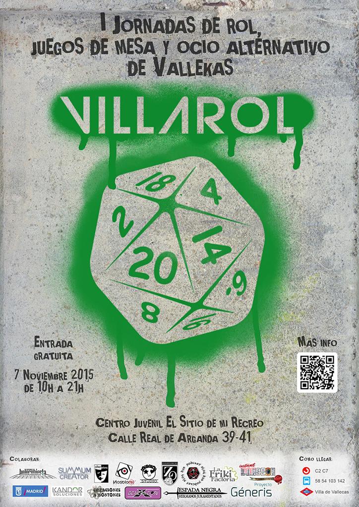 Villarol Juegos De Mesa Rol Y Ocio Alternativo En Vallecas