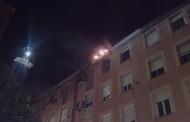 Incendio en inmueble de la Colonia Erillas de Puente de Vallecas