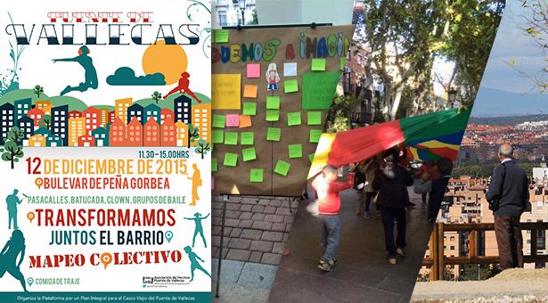 Fiesta 'Transformamos el Barrio' en el Puente de Vallecas