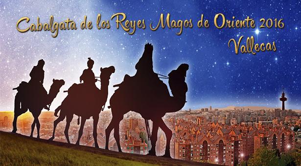 Cabalgatas de los Reyes Magos en Villa de Vallecas y Puente de Vallecas 2016