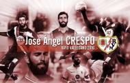 Crespo nuevo jugador del Rayo Vallecano, refuerzo de la plantilla