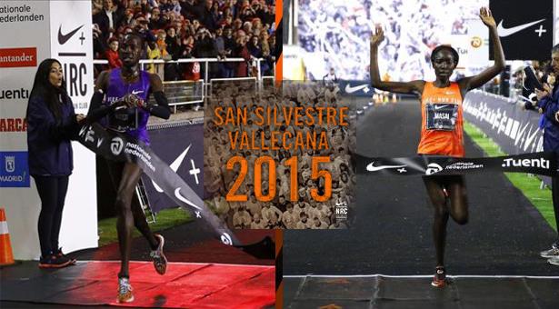 San Silvestre Vallecana 2015 – Resultados: Internacional y Popular