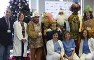 Visita especial de los Reyes Magos a los pacientes del Hospital Infanta Leonor