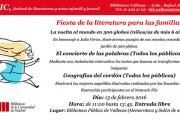 Festival FLIC de Literaturas y Artes infantil y juvenil en la Biblioteca Pública de Vallecas