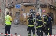 Desalojado un edificio en Vallecas por 'serios daños estructurales'