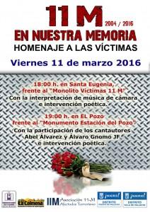 11m-duodecimo aniversario-Vallecas