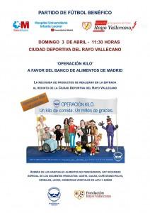 Partido benéfico HUIL - Veteranos Rayo Vallecano