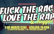 'Fuck the Rac Love Rap & Reggae' en el CSOJ Atalaya de Vallecas