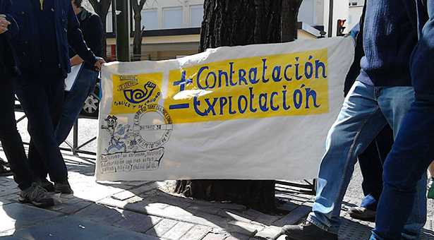 Las trabajadoras/es de Correos de Puente y Villa de Vallecas convocan jornadas de paros parciales indefinidos