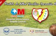 Partido de Fútbol Benéfico entre el Hospital Infanta Leonor y los Veteranos del Rayo Vallecano - 2ª Edición