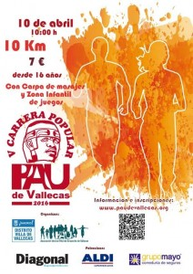 V Carrera Popular del Pau de Vallecas