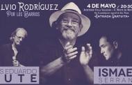 Concierto gratuito de Silvio Rodríguez, Luís Eduardo Aute e Ismael Serrano en Vallecas