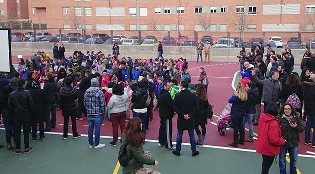Graves problemas con las plazas escolares en Villa de Vallecas: 110 niños sin plaza