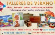 DateArte - Talleres de Verano - Julio 2016