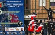 Partido amistoso entre el Vallekas Rugby Unión y el Físicas Rugby este domingo en Vallecas