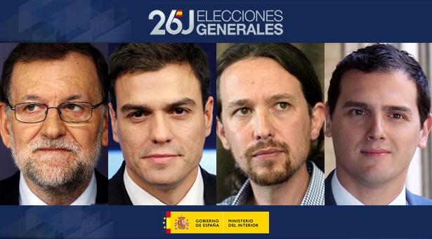 Elecciones 26-J : Resultados generales y resultados en los distritos de Vallecas