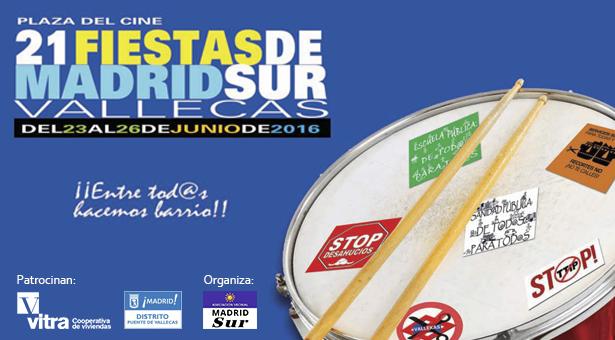 XXI Fiestas de Madrid Sur 2016 - 23 al 26 de Junio