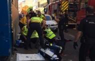 Incendio en una vivienda de Puente de Vallecas, cuatro heridos, dos de ellos graves