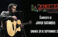 Concierto 'Javier Batanero' en el Mirador del Cerro del Tío Pío - La Palabra Habitada