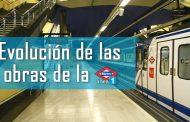 Se reabren dos tramos de la línea 1 el próximo miércoles 14 de Septiembre - Evolución de las obras del Metro de Madrid