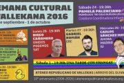 Semana Cultural Vallekana 2016 - Debate abierto socio-político en el Ateneo Republicano de Vallekas
