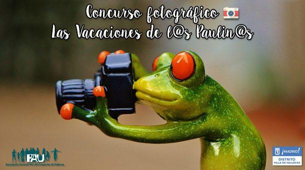VIII Concurso Fotográfico 'Las Vacaciones de l@s Paulin@s'