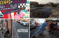 Arranca el 'Plan de Choque' para mejorar calzadas y aceras en Vallecas