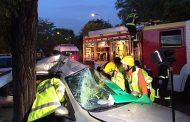 Accidente de tráfico en Entrevías con tres heridos