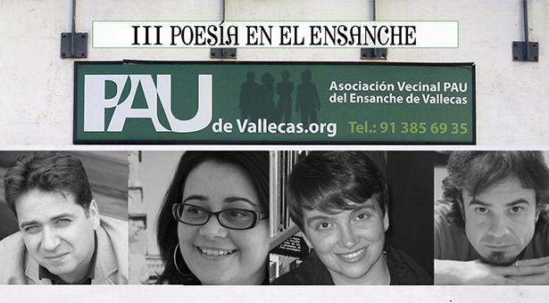 III Recital de poesía en la A.A.V.V. Pau del Ensanche de Vallecas