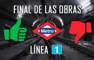 Este domingo se reabre la Línea 1 de Metro por completo ¿Qué ha sucedido y qué se echa en falta?