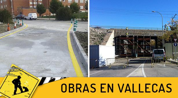 Reordenaci n de tr fico en la avenida de la gavia y for Obra nueva ensanche de vallecas